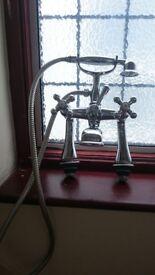 Bristan Beautiful Chrome Victorian Style Bath Mixer Tap.