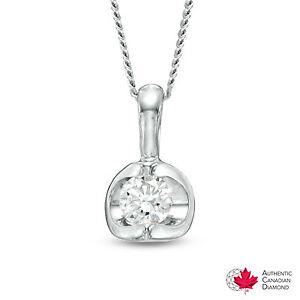 Canadian diamond necklace