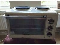 Used, NON WORKING MINI COOKER AND NON WORKING MICROWAVE for sale  Norfolk