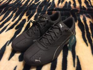 Black/Gray Soft-Foam Puma
