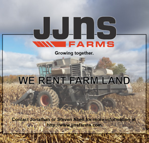 WANTED: Farm Land for renting or share crop