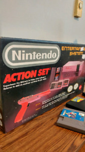 Orginal Nintendo action set