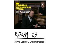 Jarvis Cocker & Chilly Gonzales as Room 29 @ Kings Theatre, Edinburgh - Thur 24.08.17
