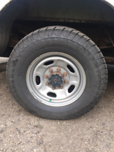 "17"" Steel Ford Super Duty Rim"