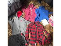 Job lot of clothing Hollister, superdry, all saints