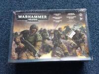 Warhammer 40k - Imperial Guards Cadian Shock Troops (SEALED)