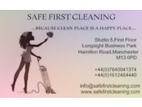 SAFE FIRST CLEANING. GET FREE CARPET CLEANING WITH DEEP CLEANING. PROFESSIONAL CLEANING SERVICES
