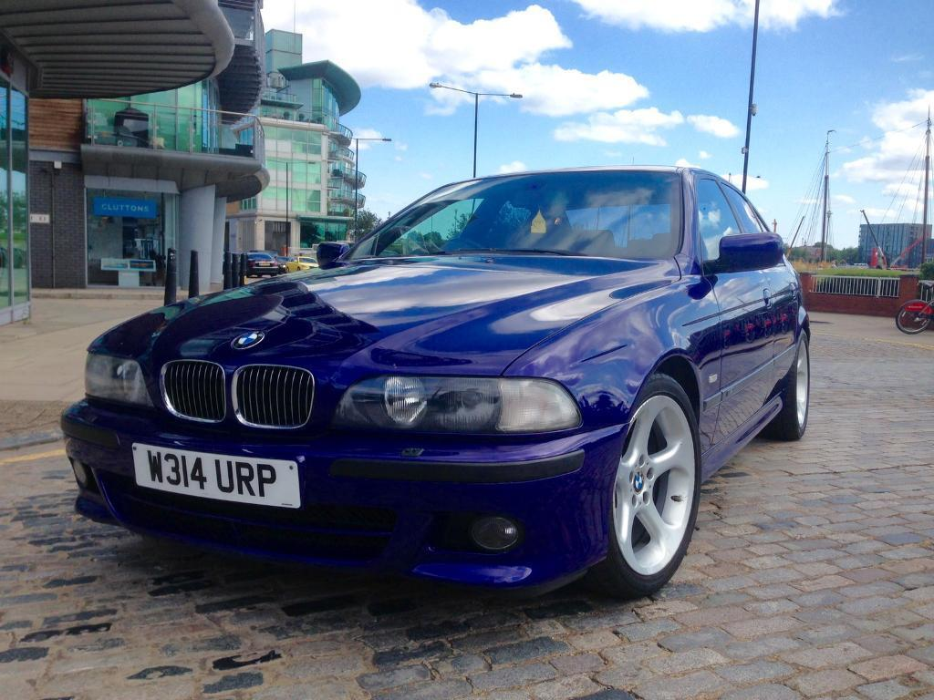 bmw e39 535i v8 msport individual manual in tower bridge london gumtree. Black Bedroom Furniture Sets. Home Design Ideas