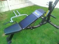 Power tech leverage bench