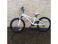 Girls Saracen bike , age 7+ good bike supplied by sprockets cycles
