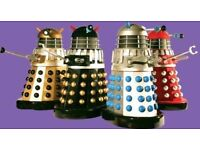 Remote control daleks wanted must be working complete collection or single items