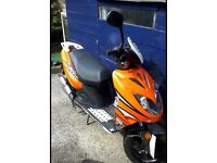 2015 Keeway F-ACT 50cc moped