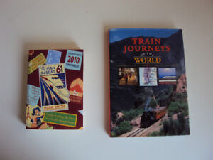 2 Books about Train Travel for $10