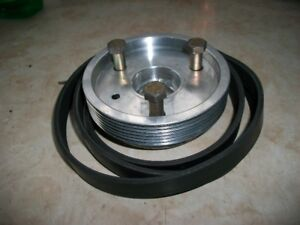 Under Drive Crank Pulley