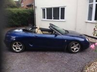 MGF sports car! Beautiful, Full M.o.t till 2018, private plate, ready to rock!!!