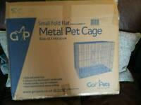 Small foldaway pet cage