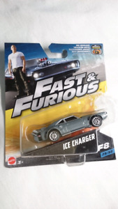 MATTEL FAST AND FURIOUS DODGE ICE CHARGER R/T DIECAST F8 MINT