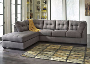 2 PC SECTIONAL FROM ASHLEY !!!! FREE DELIVERY IN CALGARY!!!!
