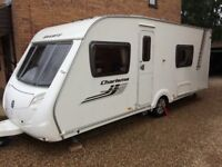 2011 Swift Charisma 550 Fixed Bed, End Bathroom Touring Caravan