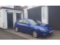 Mazda 3 , low mileage, 12 months MOT, serviced