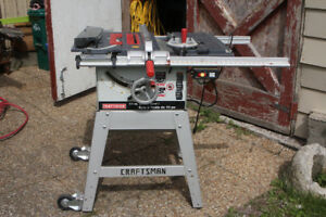 10 inch Craftsman table saw - 500
