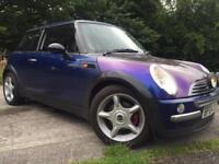 SWAP PX OFFERS Mini Cooper S Replica leather, new tyres clutch alloys EXAUST SYSTEM
