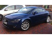 Audi TT coupe sport 1.8 : 2013 : blue : under 20,000 miles with Autoglym protection pack