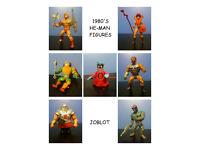ORIGINAL 1980'S HE-MAN JOBLOT