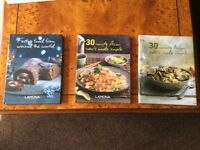 Three Lamona cookery books
