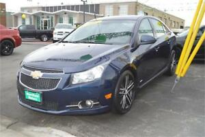 2011 Chevrolet Cruze LT2 - LOW PAYMENTS OF $40 a week