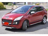 Peugeot 3008, petrol Exclusive model