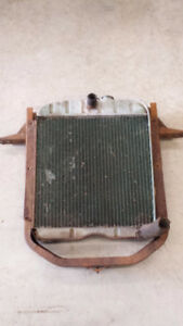 1947-53 GMC Chevrolet Truck Radiator and Rad support.