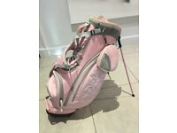 Pink Ladies Callaway golf bag