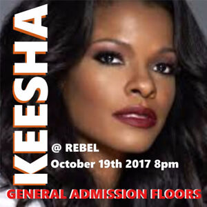 KESHA @ REBEL – GENERAL ADMISSION FLOOR TICKETS!!!