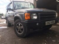 Land Rover discovery 2001 td5 series 2