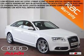 2011 Audi A6 Saloon 2.0TDI (170ps)S Line Special Ed-FULL LEATHER-B.TOOTH-NAV