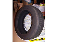 Fulway Snowtrak 195/60/R15 88H M+S Tubeless Radial Winter Tyre (Lightly Used)