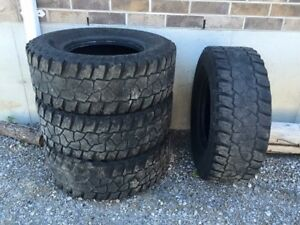 Mickey Thompson tires, limited tread