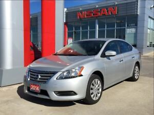 2014 Nissan Sentra 1.8 S, blue tooth, USB, A/C