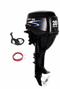 New 20 hp Parsun Outboard - Long shaft, Remote Controls