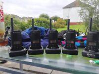 Motorola xtnid xtni d walkie talkie radio complete set