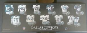 Dallas Cowboys Larger Than Life Jersey Plaque