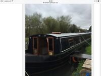 Bespoke canal boat widebeam 10ft x 57ft