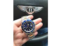 Rolex Submariner 16613 18k Bi Metal Blue