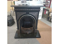 Gallery celtic arched - Victorian reproduction fireplace (Highlighted)