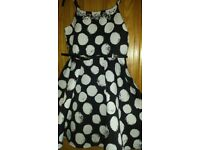girls spotty party dress