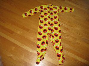Sesame Street Pajamas - smoke free and pet free house