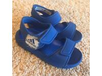 Infant boys Adidas summer sandals. Size 7. £10