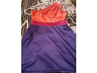 Size 10/12 Lipsy One Shoulder Dress