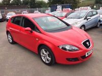SEAT LEON 2.0 TDI REFERENCE SPORT 6 SPEED 5 DOOR 2008 / 51K MILES / CAMBELT DONE / FSH / 1 OWNER
